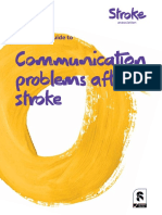 complete guide to communication problems after stroke