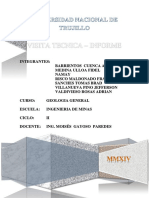 Visita Tecnica -Informe