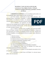 Mp 2200 (Leg. Arq. Infr de Chaves Públicas)