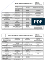 F-01 Especificaciones Del Producto (o Servicio) Ideal v0