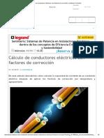 Cálculo de Conductores Eléctricos Con Factores de Corrección _ Voltimum Colombia