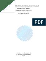 4. Kursil Refreshing Manajemen Krisis Tingkat Senior