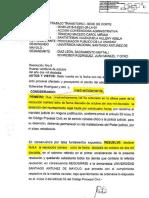 RESOLUCIÓN 9 CASO JULIO POTERICO UNASAM