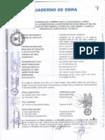 ESCANEO DE CUADERNO DE OBRA