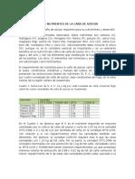Deficiencia de Calcio y Magnesio en Caña de Azucar