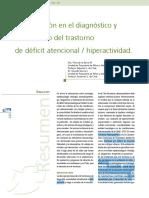 Barra & García - Actualización en el diagnóstico y tratamiento del trastorno de déficit atencional:hiperactividad
