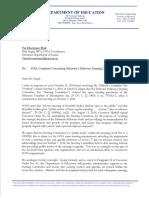 Delaware DOE Response to FOIA DE Pathways