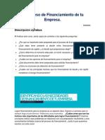 El Proceso de Financiamiento de Tu Empresa Sesión 10