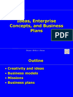 8. Plans, Ideas, Models