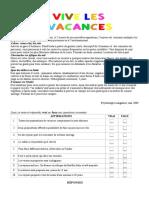 58274 Vive Les Vacances