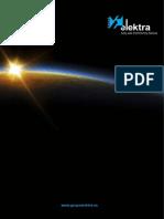 Catálogo Solar Fotovoltaico