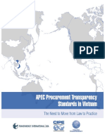 Vietnam APEC Procurement Standards Report En