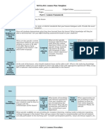 mcea esl lesson plan template