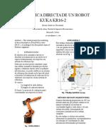 Cinemática Directa de Un Robot Kuka Kr16 Examen