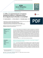Actas Dermo Sifiliográficas