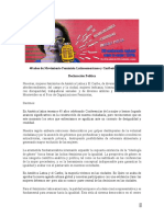 Declaración Foro Feminista XIII CRM FINAL