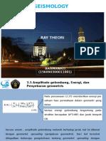 Seismology-Ray Theory.pptx