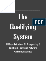 The Qualifying System