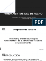 FUNDAMETOS