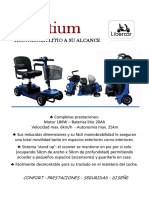 Brochure Libercar Litium Small Lightweight Lithium Battery Comfortable Quality Inexpensive Mobility Scooter Accessible Madrid Sales