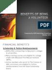 Benefits of Being a Volunteer