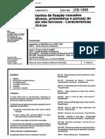 NBR 11201 - 1989 - Elementos de Fixação Roscados