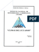 Climas Del Ecuador 2006