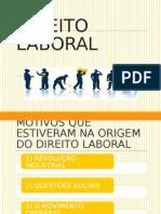 DIREITO LABORAL