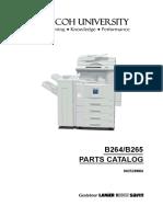 Aficio 3035 3045 Parts Manual