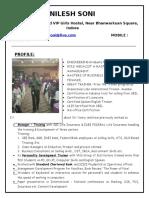 Freelance Trainer - Nilesh Soni Profile