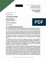 Letter to M. Bernier