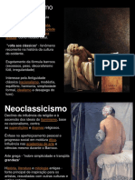 Neoclassicismo e Romantismo