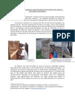 Casa Ecológica Demostrativa Proyecto Con Correciones