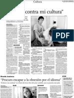 Entrevista con Vicente Luy
