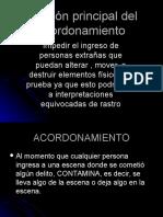 CRIMINALISTICA-ACORDONAMIENTO