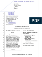 Marlowe vs. City and County of SF + SFPD - Second Amended Complaint