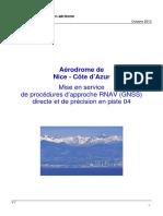 Dossier ACNUSA CCE NICE 2013 Mise en Service de Procedures GNSS LPV 04