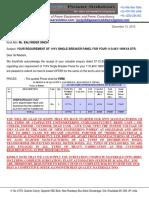 Quotation CT PT Isolator VCB AB Switch Drop Out Fuse Set TPMO SMC LT Distribution Box