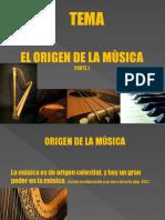 El Origen de La Musica Parte 1 Secuencia 2