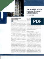 1699-Tecnología Suiza Apoyo a Problema Ambiental en Colombia
