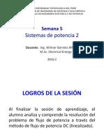 SISTEMAS FLUJO DE POTENCIA DC - LINEALIZADO