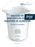 Estudio Económico Planta de Bioplastico