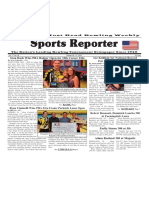 October 26 - 31, 2016  Sports Reporter