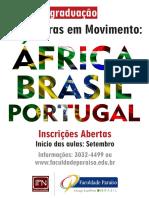 Cartaz Pós Literatura Em Movimento FAP