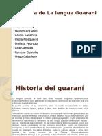 Historia de La Lengua Guarani