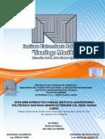 Sitio Web Para Santiago Mariño Sede Ciudad Ojeda