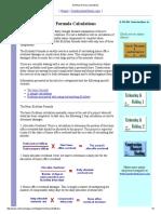Eichleay Formula Calculations