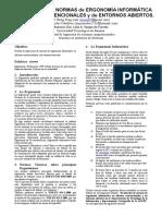 [FINAL] Articulo Evaluación de Normas de Ergonomía Informática en Oficinas Convencionales y de Entornos Abiertos