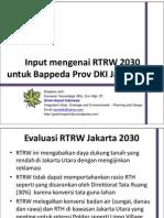 20100613 - Input Untuk RTRW 2030 - Green Impact PDF