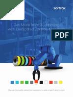 Zortrax Materials Brochure 2015